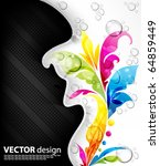 abstract background | Shutterstock .eps vector #64859449