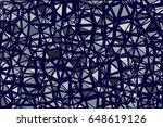 abstract polygonal background.... | Shutterstock .eps vector #648619126