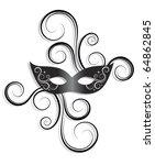 carnival mask | Shutterstock .eps vector #64862845