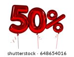 fifty inflatable figures with... | Shutterstock . vector #648654016