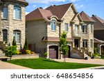 expensive homes in canada. | Shutterstock . vector #648654856