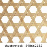 bamboo texture.basketry pattern ... | Shutterstock . vector #648662182