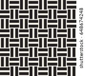 black and white shapes seamless ...   Shutterstock .eps vector #648674248