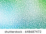 light blue  green vector... | Shutterstock .eps vector #648687472
