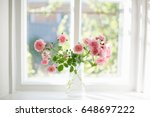 Bouquet Of Summer Roses In...