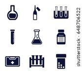 drug icons set. set of 9 drug...   Shutterstock .eps vector #648706522
