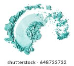 eye shadow isolated on white... | Shutterstock . vector #648733732
