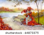Watercolor Landscape....