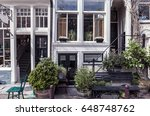 authentic old street  amsterdam | Shutterstock . vector #648748762