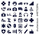 help icons set. set of 36 help...   Shutterstock .eps vector #648752896