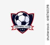 football club bagde  soccer... | Shutterstock .eps vector #648760198