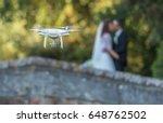 drone wedding | Shutterstock . vector #648762502