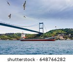 seascape of  bosporus. view of... | Shutterstock . vector #648766282