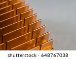 industrial abstract orange gold ...