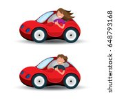 car and driver vector... | Shutterstock .eps vector #648793168