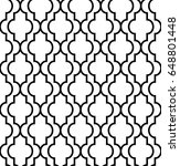 arabic seamless pattern. tile... | Shutterstock .eps vector #648801448