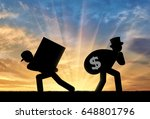 social inequality . poor worker ... | Shutterstock . vector #648801796