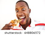 close up portrait of excited... | Shutterstock . vector #648806572