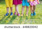 footwear for children. group of ... | Shutterstock . vector #648820042