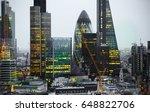 london  uk   december 19  2016  ... | Shutterstock . vector #648822706