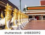 singing statue at wat phra that ...   Shutterstock . vector #648830092