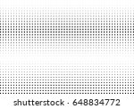 abstract halftone dotted... | Shutterstock .eps vector #648834772