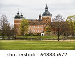 the gripsholm castle is located ... | Shutterstock . vector #648835672