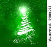 Abstract background on the new background. Christmas and New Year - stock photo