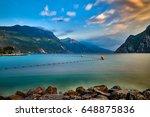 beautiful landscape. view of... | Shutterstock . vector #648875836