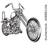 Hand Drawn And Inked Vintage...