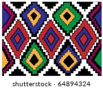 Carpet Motive Texture Vector