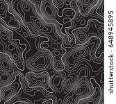 seamless pattern. fictional... | Shutterstock .eps vector #648945895