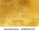 shiny yellow leaf gold foil... | Shutterstock . vector #648946192