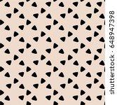 seamless pattern  geometric art ...   Shutterstock .eps vector #648947398