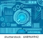 abstract future  concept vector ... | Shutterstock .eps vector #648964942