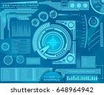 abstract future  concept vector ... | Shutterstock .eps vector #648964942