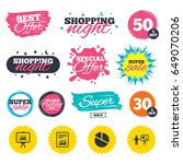 sale shopping banners. special... | Shutterstock .eps vector #649070206
