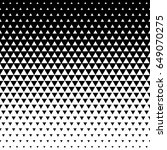 vector seamless white to black... | Shutterstock .eps vector #649070275