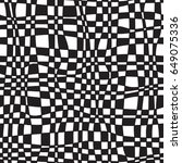 black and white geometric... | Shutterstock .eps vector #649075336