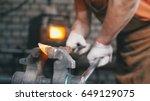 Blacksmith Gloves Handles A Ho...