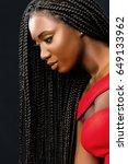 close up vertical beauty... | Shutterstock . vector #649133962
