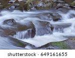 Rushing River Water Flowing...