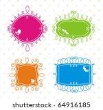 swirl frames | Shutterstock .eps vector #64916185