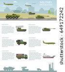 military army big set of base... | Shutterstock .eps vector #649172242