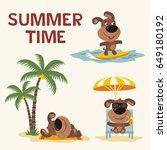 Summer Time On Beach....