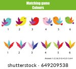 educational children game.... | Shutterstock .eps vector #649209538