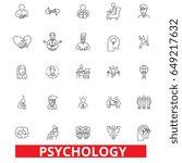 psychology  psychologist ... | Shutterstock .eps vector #649217632