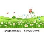 Summer Or Spring Landscape For...