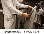 shopping mall  fashion... | Shutterstock . vector #649277176