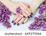 beauty treatment  woman hands